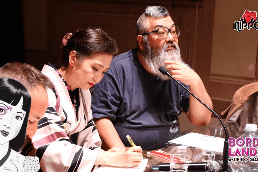 Workshop di disegno con Tagame Gengoroh e Uchida Shungicu