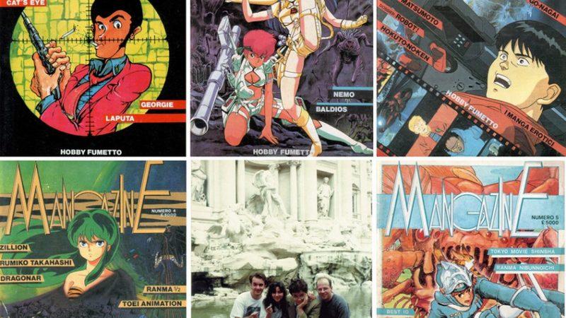 Storia del manga in Italia: le prime riviste della Granata Press