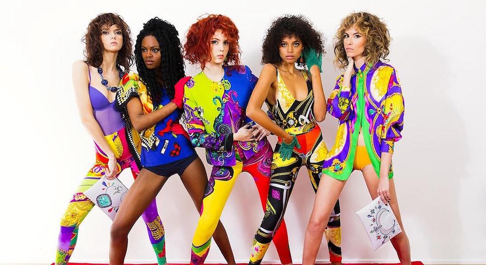 Versace moda anni 80