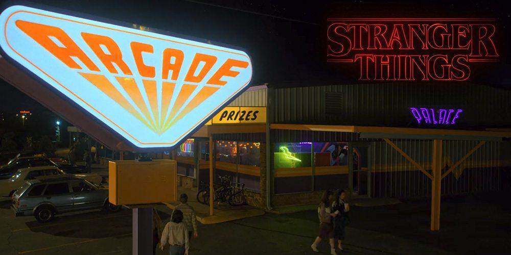 Stranger Things arcade